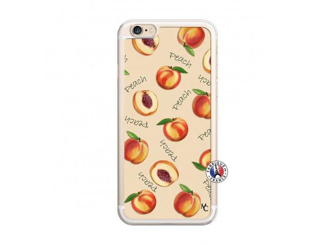 Coque iPhone 6 Plus/6s Plus Sorbet Pêche Translu