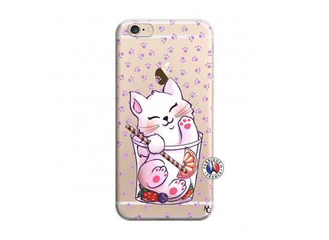 Coque iPhone 6 Plus/6s Plus Smoothie Cat