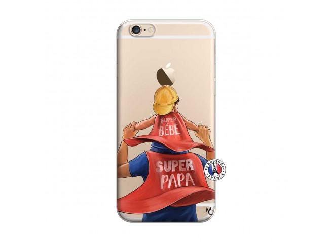 Coque iPhone 6 Plus/6s Plus Super Papa et Super Bébé