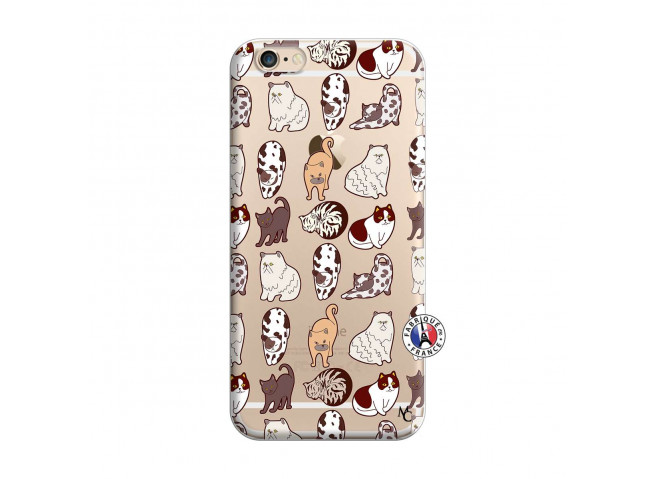 Coque iPhone 6/6S Cat Pattern