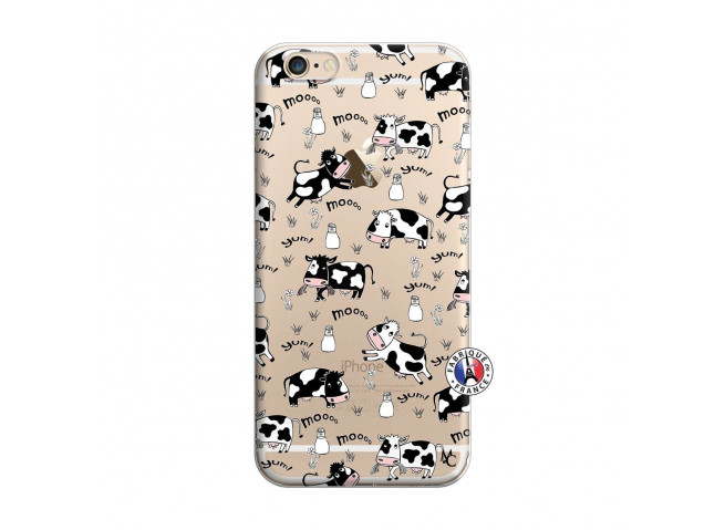 Coque iPhone 6/6S Cow Pattern