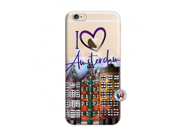 Coque iPhone 6/6S I Love Amsterdam
