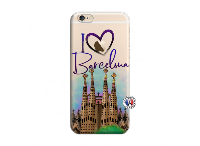 Coque iPhone 6/6S I Love Barcelona