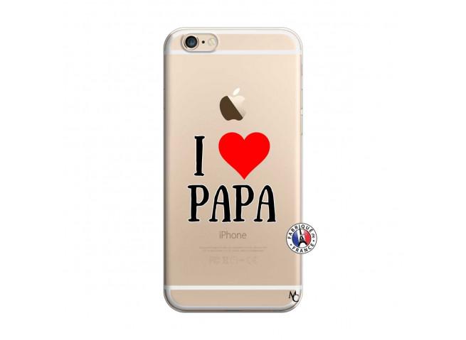 Coque iPhone 6/6S I Love Papa
