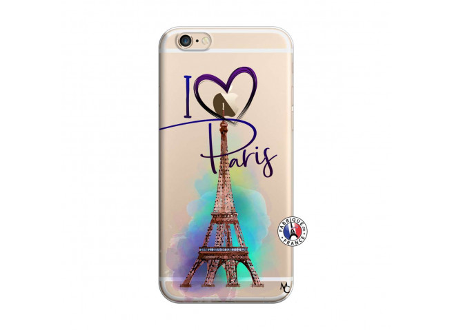 Coque iPhone 6/6S I Love Paris