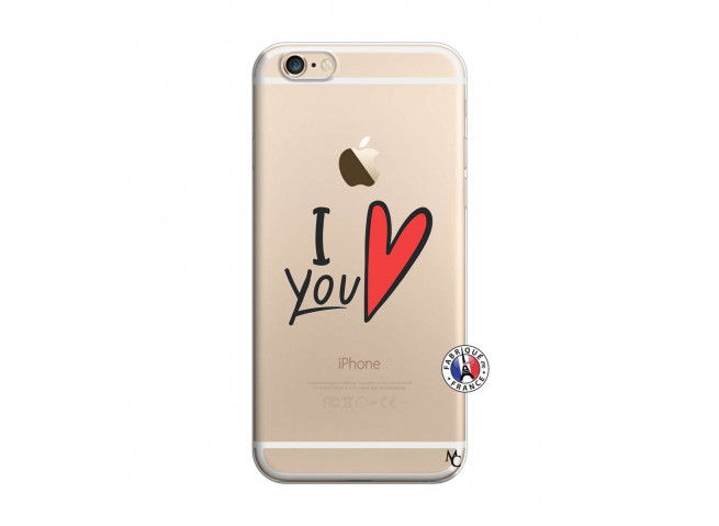 Coque iPhone 6/6S I Love You