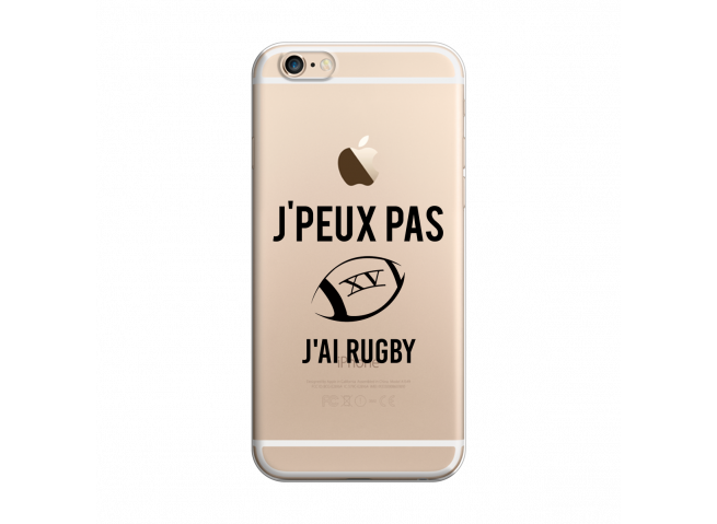 Coque iPhone 6/6S J Ai Rugby