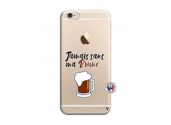 Coque iPhone 6/6S Jamais Sans Ma Brune