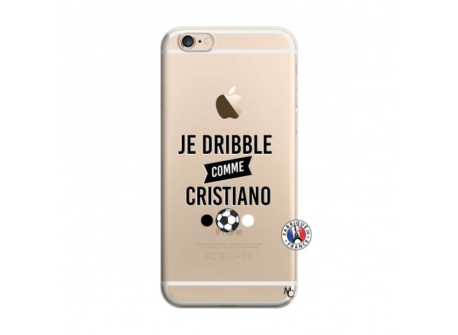 Coque iPhone 6/6S Je Dribble Comme Cristiano