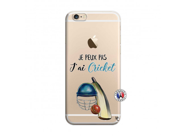 Coque iPhone 6/6S Je peux pas j'ai cricket