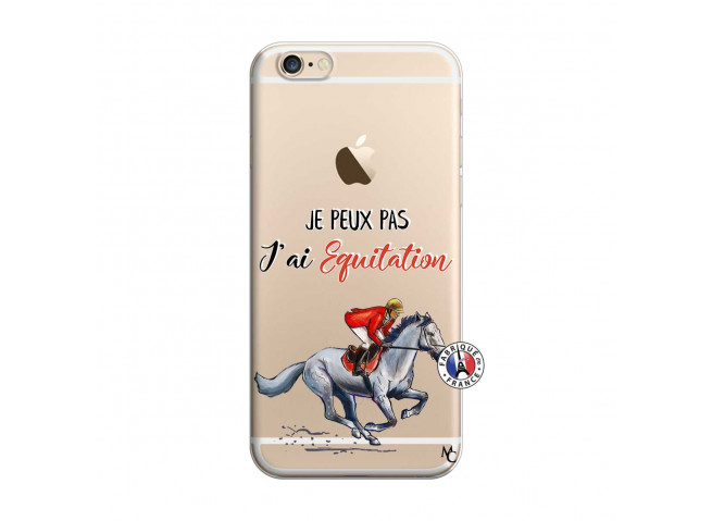 Coque iPhone 6/6S Je Peux Pas J Ai Equitation
