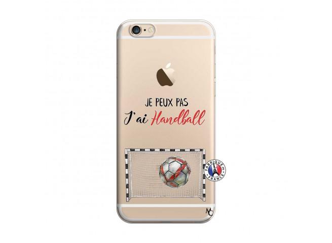 Coque iPhone 6/6S Je peux pas j'ai Handball