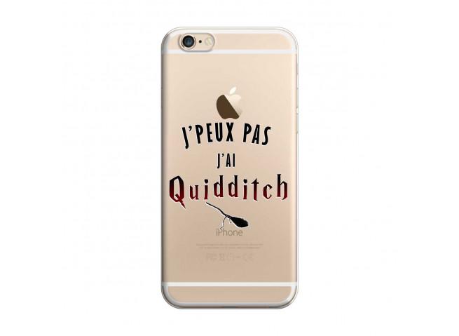 Coque iPhone 6 et 6s Harry Potter je peux pas j'ai quidditch