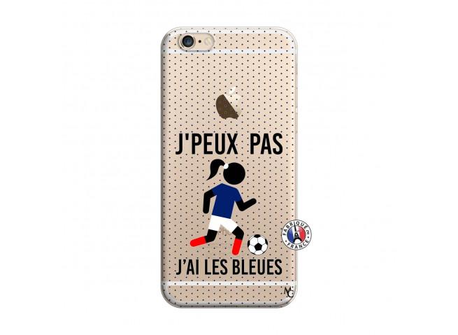 Coque iPhone 6/6S Je Peux Pas J Ai Les Bleues Maillot
