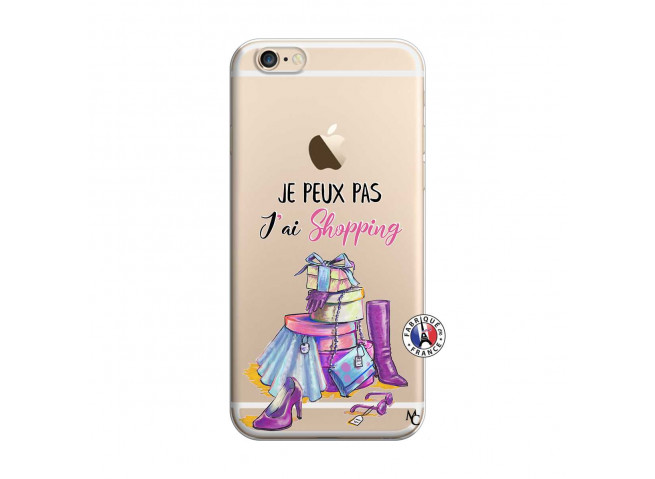 Coque iPhone 6/6S Je Peux Pas J Ai Shopping