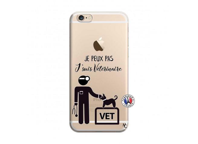 Coque iPhone 6/6S Je Peux Pas Je Suis Veterinaire