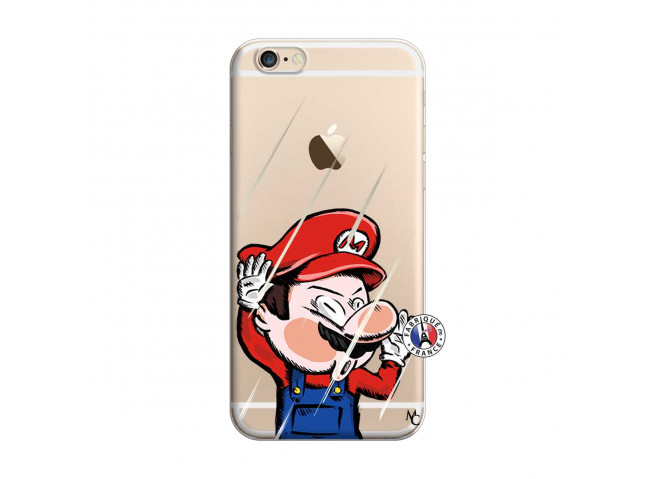 Coque iPhone 6/6S Mario Impact