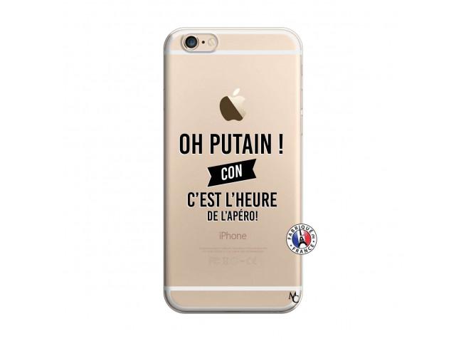 Coque iPhone 6/6S Oh Putain C Est L Heure De L Apero