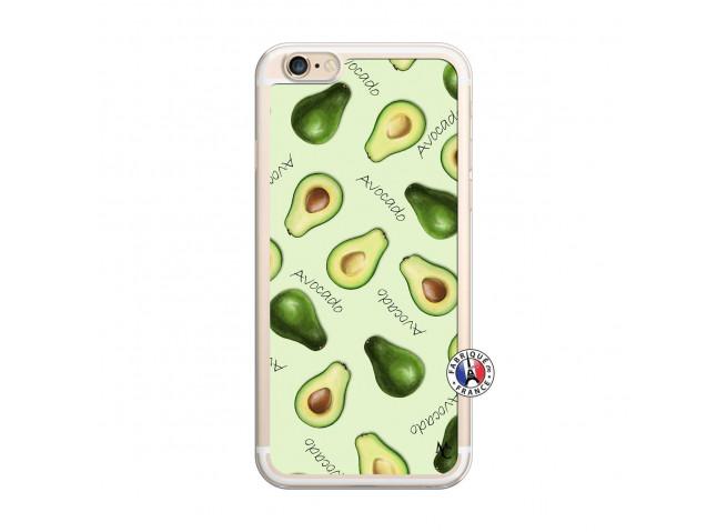 Coque iPhone 6/6S Sorbet Avocat Translu