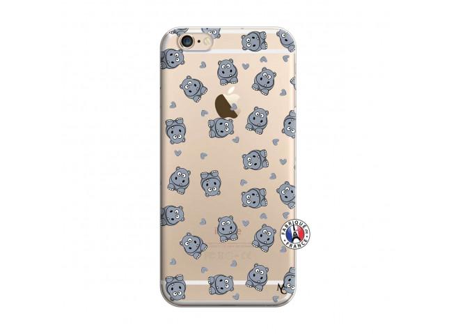 Coque iPhone 6/6S Petits Hippos