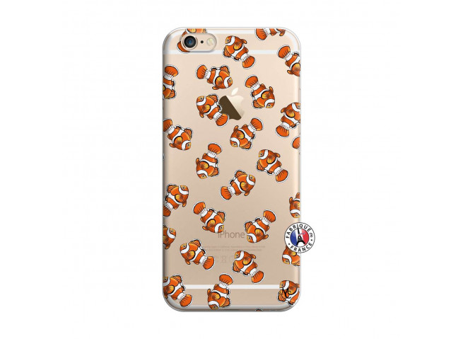 Coque iPhone 6/6S Petits Poissons Clown