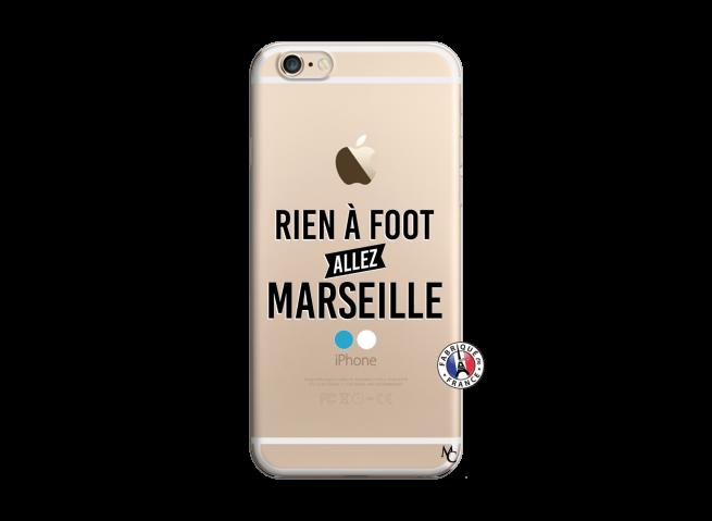 Coque iPhone 6/6S Rien A Foot Allez Marseille
