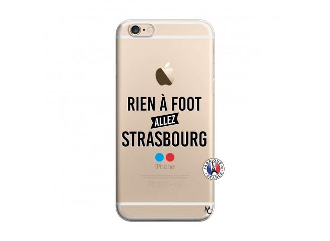 Coque iPhone 6/6S Rien A Foot Allez Strasbourg
