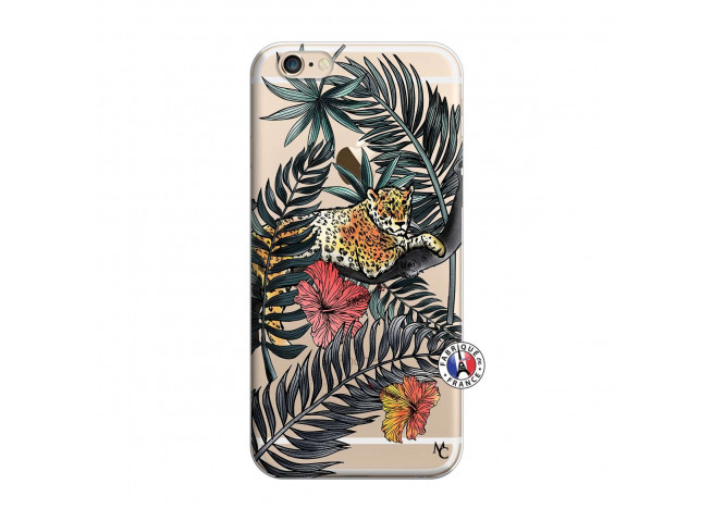 Coque iPhone 6/6S Leopard Tree
