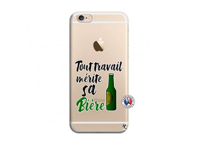 Coque iPhone 6/6S Tout Travail Merite Sa Biere
