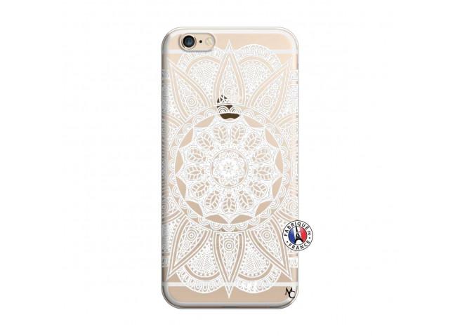 Coque iPhone 6/6S White Mandala