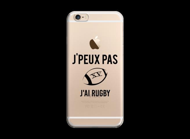 Coque iPhone 6Plus/6SPlus J Ai Rugby