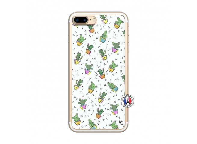 Coque iPhone 7 Plus/8 Plus Le Monde Entier est un Cactus Translu