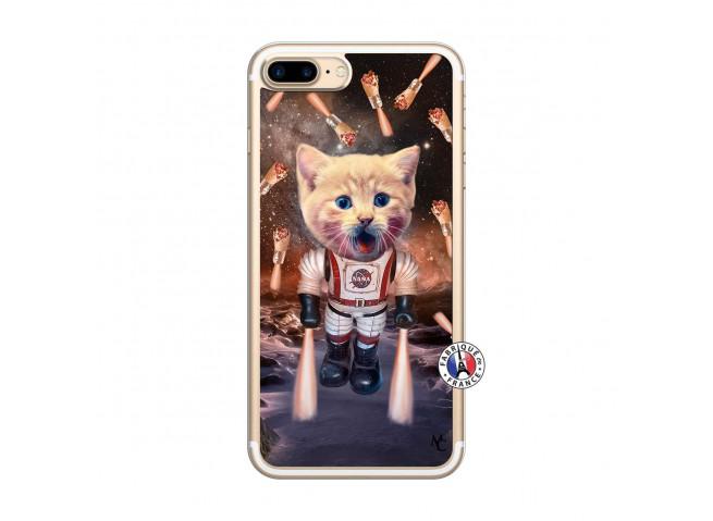 Coque iPhone 7 Plus/8 Plus Cat Nasa Translu