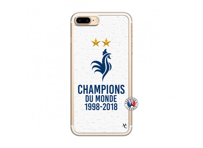 Coque iPhone 7 Plus/8 Plus Champion Du Monde Translu