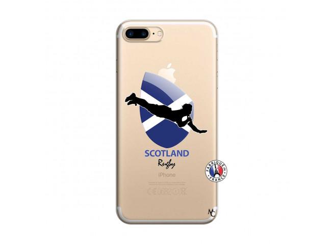 Coque iPhone 7 Plus/8 Plus Coupe du Monde Rugby-Scotland