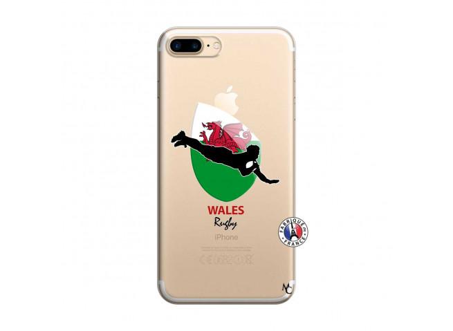 Coque iPhone 7 Plus/8 Plus Coupe du Monde Rugby-Walles