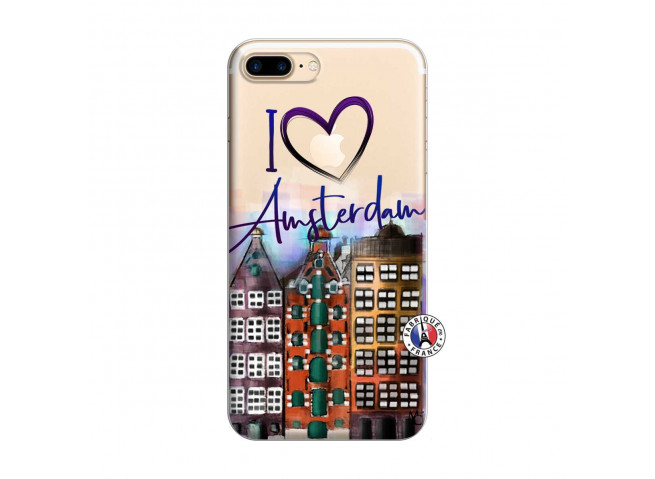 Coque iPhone 7 Plus/8 Plus I Love Amsterdam