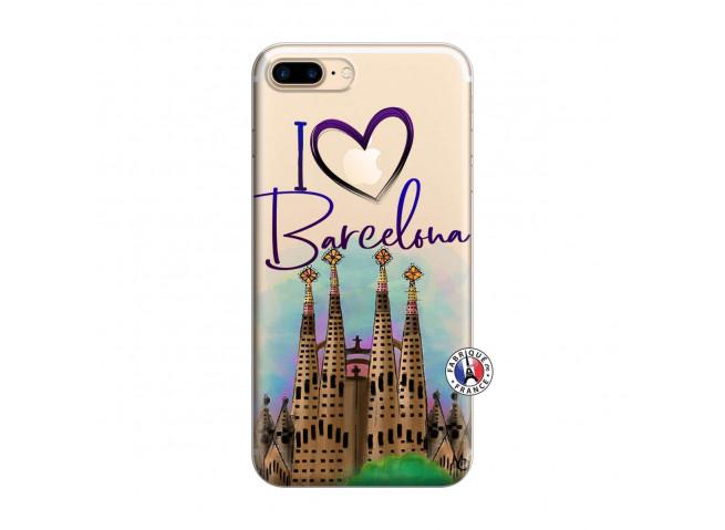 Coque iPhone 7 Plus/8 Plus I Love Barcelona