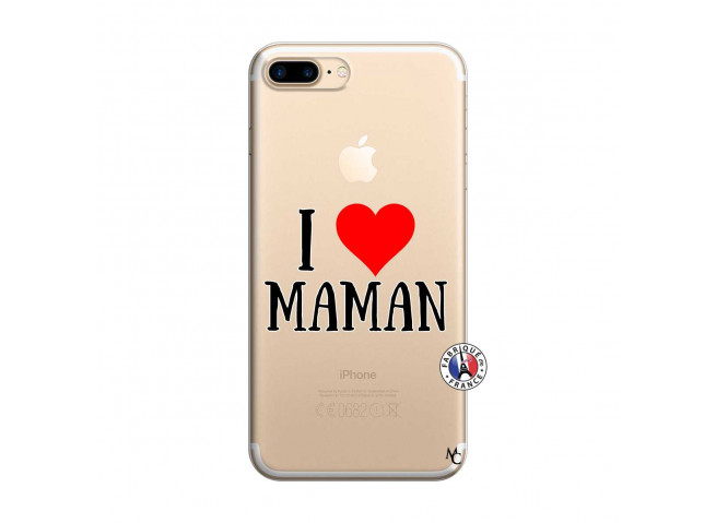 Coque iPhone 7 Plus/8 Plus I Love Maman