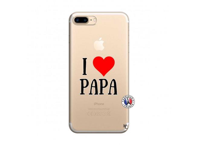 Coque iPhone 7 Plus/8 Plus I Love Papa