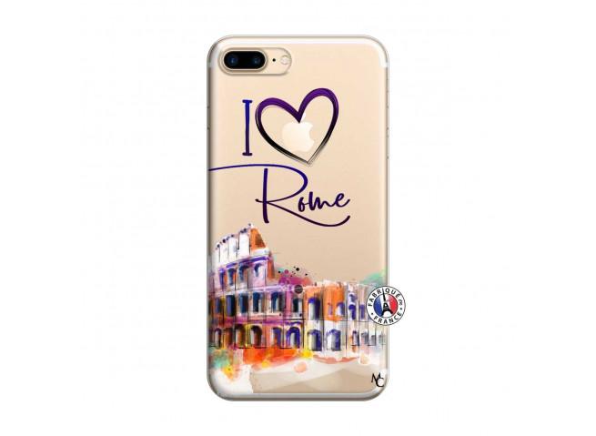 Coque iPhone 7 Plus/8 Plus I Love Rome