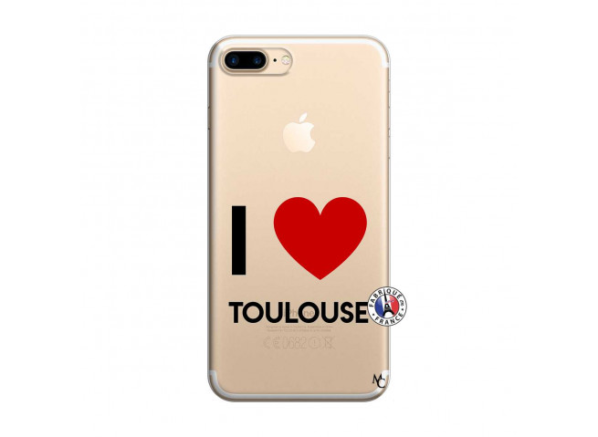 Coque iPhone 7 Plus/8 Plus I Love Toulouse