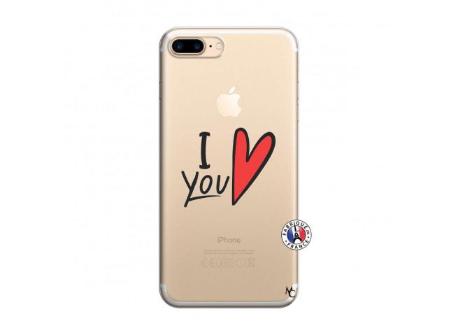 Coque iPhone 7 Plus/8 Plus I Love You