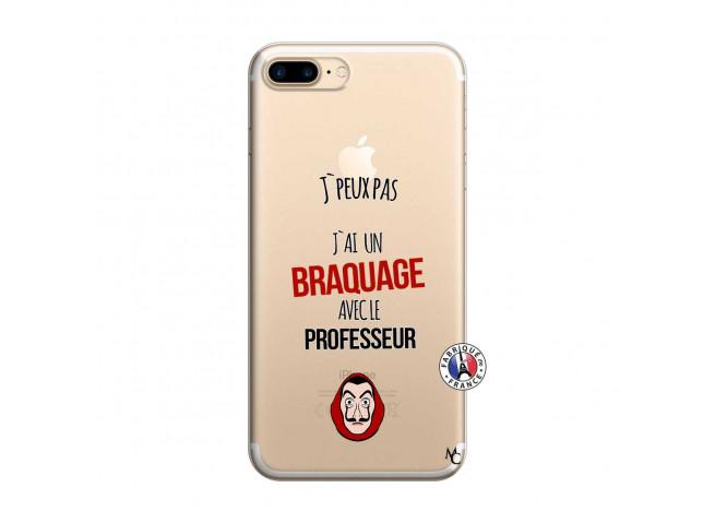 Coque iPhone 7 Plus/8 Plus J Peux Pas J Ai Un Braquage Avec Le Professeur