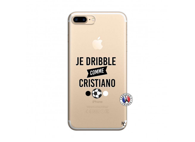 Coque iPhone 7 Plus/8 Plus Je Dribble Comme Cristiano