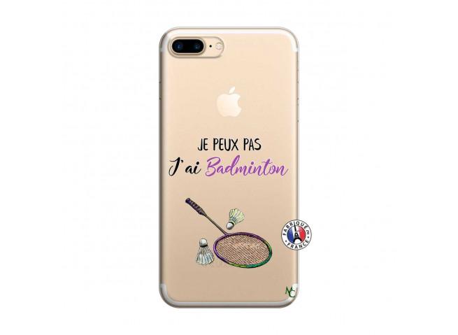 Coque iPhone 7 Plus/8 Plus Je Peux Pas J Ai Badminton