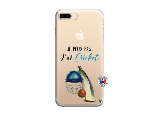 Coque iPhone 7 Plus/8 Plus Je peux pas j'ai cricket
