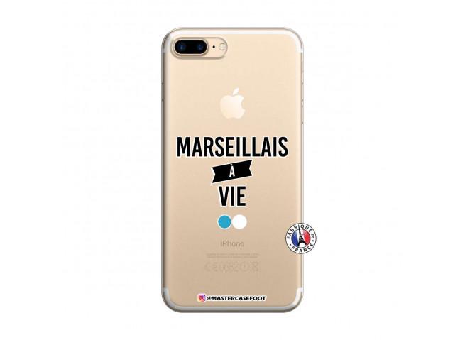 Coque iPhone 7 Plus/8 Plus Marseillais à Vie