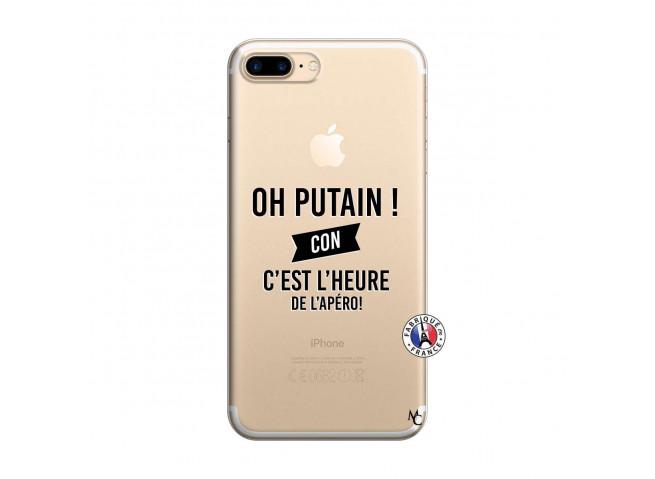 Coque iPhone 7 Plus/8 Plus Oh Putain C Est L Heure De L Apero