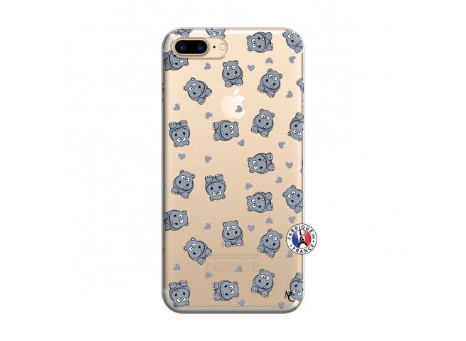 Coque iPhone 7 Plus/8 Plus Petits Hippos